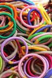 Indiańskie kolorowe bransoletki Obrazy Stock