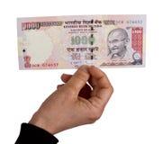 Indiańskie rupie Zdjęcie Stock
