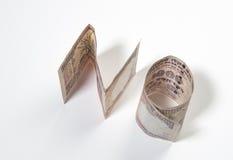 Indiańskie rupie ŻADNY' Fotografia Stock