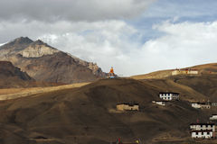 India, Spiti Valley. In the holy place Stock Photos