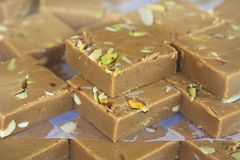 India sweets background Stock Images