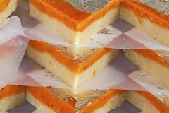 India sweets background Stock Photo