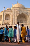 India: Taj Mahal Stock Photo