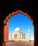 India Taj Mahal. Indian palace Stock Image
