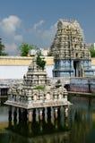 India, Tamil Nadu - Kamakshiamman Temple. Kamakshiamman Temple in Kanchipuram. Bouilt in the 14 th century. Tamil Nadu, India Stock Photo