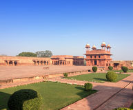 India. The thrown city of Fatehpur Sikri Stock Photos