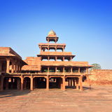 India. The thrown city of Fatehpur Sikri. Stock Photos
