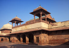 India. The thrown city of Fatehpur Sikri. Stock Image
