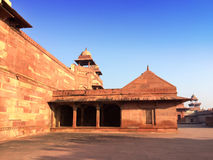 India. The thrown city of Fatehpur Sikri Royalty Free Stock Images