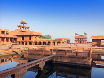 India. The thrown city of Fatehpur Sikri. Royalty Free Stock Photography