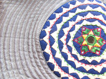 India-Traditional hand embroidered piece Royalty Free Stock Image
