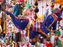 India. Traditional Indian Interior decorative Items popular in Rajasthan of india Stock Photos