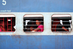 India train station Stock Images