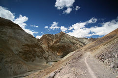 India trekking landscape Royalty Free Stock Images