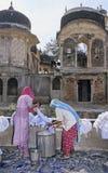 india tvätt Arkivfoton