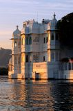 India, udaipur: lake palace Stock Photo