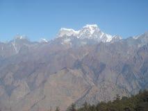 India Uttarakhand Himalajski widok g?rski 7 fotografia stock
