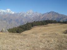 India Uttarakhand Himalajski widok g?rski 2 zdjęcie royalty free