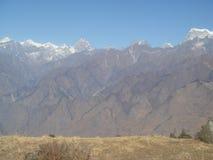 India Uttarakhand Himalajski widok g?rski 1 zdjęcie stock