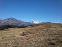 India Uttarakhand Himalayan Nandadevi biosphere view 5 stock photos