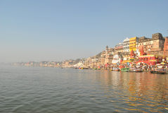 India.Varanasi.Ganges Royalty Free Stock Image