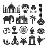 India vector icons Stock Image