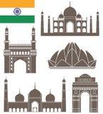 India. Vector illustration (EPS 10 Stock Image