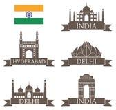 India. Vector illustration (EPS 10 Stock Photos