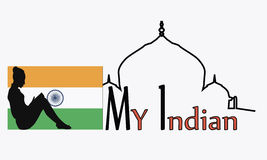 India vector illustration Royalty Free Stock Images