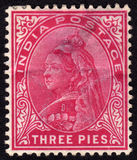 India Victorian Postage stamp Stock Photography