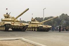 India viert de 67ste Dag van de Republiek op 26 Januari Stock Foto