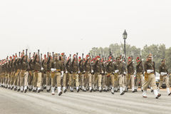 India viert de 67ste Dag van de Republiek op 26 Januari Stock Fotografie