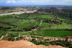 India. The view from Hanuman temple Royalty Free Stock Photography