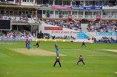 India vs England at Lords royalty free stock photo