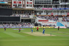 India vs England at Lords Stock Photography