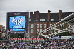 India vs England at Lords Royalty Free Stock Image