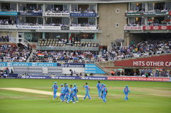 India vs England at Lords Royalty Free Stock Photography