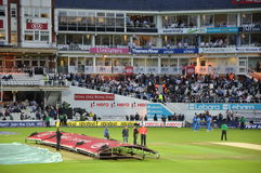 India vs England at Lords Royalty Free Stock Photo