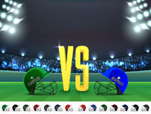 India VS Pakistan Cricket Match Schedule. Stock Images