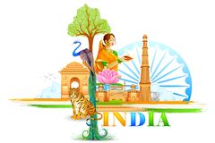 India Wallpaper Stock Photos