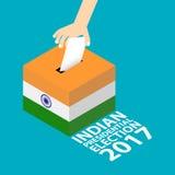 India wybór prezydenci 2017 Zdjęcie Stock