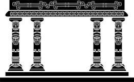 Indiaantempel royalty-vrije illustratie