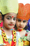 Indian Adolescents Dancer Royalty Free Stock Photo