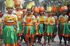 Indian Adolescents Dancer Stock Photos
