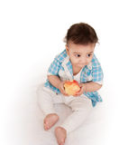 Indian Adorable baby Stock Photo