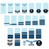 Indian Air Force insignia Royalty Free Stock Photo