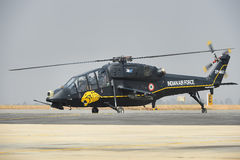 Indian Air Force Light Combat Helicopter Royalty Free Stock Photos