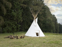 Indian american wigwam Stock Photography