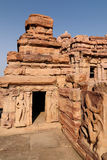 Indian ancient architeckture in Pattadakal Royalty Free Stock Photography