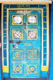 Indian ancient tribal door Stock Photo